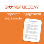Corporate Engagement 2012 Examples