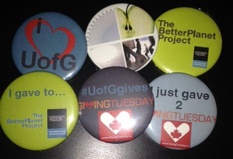 Giving Tuesday Buttons
