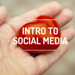 intro to social media button