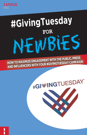 GivingTuesday PR Toolkit Button